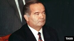 Islam Karimov in 1991, the year he won independent Uzbekistan's first presidential election