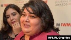 «Ազատություն» ռադիոկայանի ադրբեջանական ծառայության լրագրող Խադիջա Իսմայիլովա, արխիվ