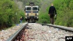 Hekurudhë në Maqedoni, ku gjetën vdekjen emigrantë nga vendet e Lindjes së afërt