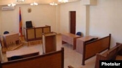 Armenia -- A courtroom in Yerevan.