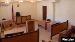 Зал суда в Ереване