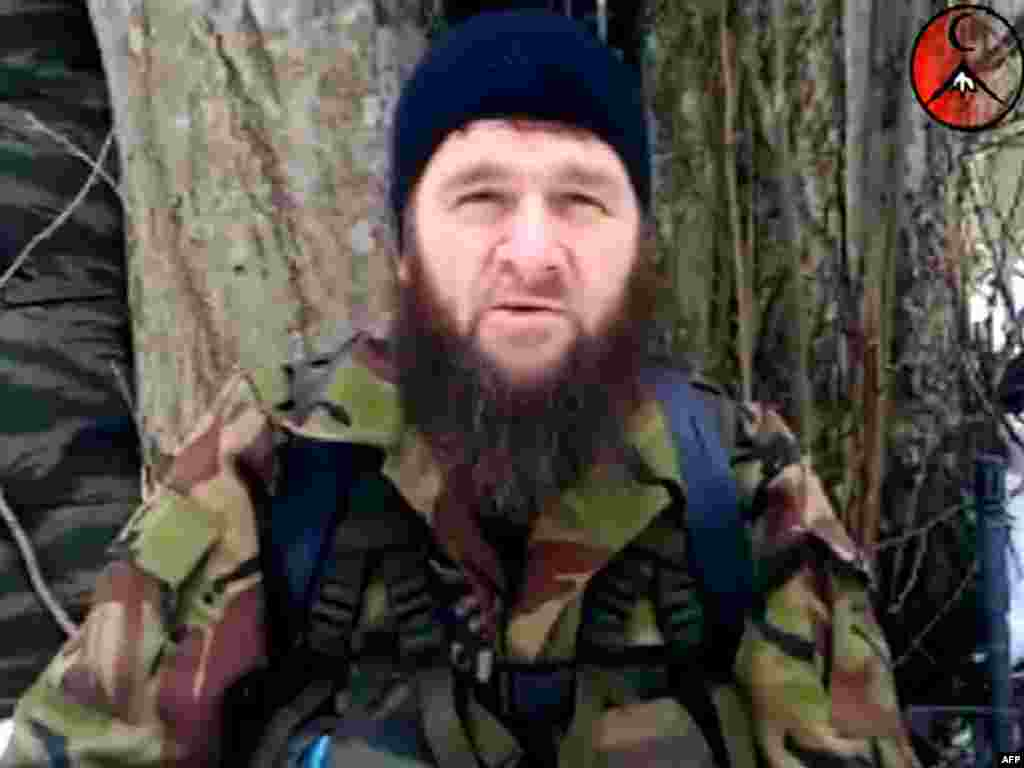 A self-confessed former racketeer, Doku Umarov returned to his native Chechnya when the first war erupted in 1994 and took over as president and resistance commander in 2006. Russian security personnel have prematurely announced his death in combat on countless occasions. His rejection of the cause of Chechen independence and authoritarian style impelled several veteran commanders to rebel against him last year. (Text by Liz Fuller)