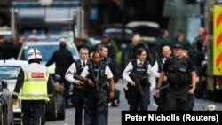 حمله اخیر لندن که مسئولیت آن را داعش به دوش گرفت.