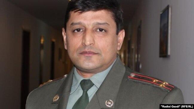 Фаридун Махмадализода, пресс-секретарь Минобороны РТ