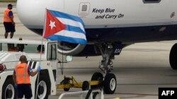 В аэропорту Гаваны, иллюстративное фото