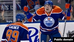 Canada -- Nail Yakupov by Edmonton Oilers scores his first career NHL goal, Edmonton, 22Jan2013