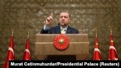 د ترکيې ولسمشر طیب رجب اردوغان