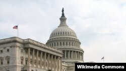 تصویری از ساختمان کنگره امریکا