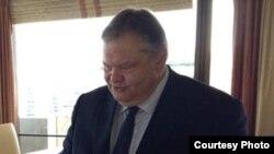 Грчкиот министер за надворешни работи Евангелос Венизелос.