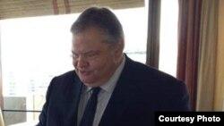 шефот на грчката дипломатија Евангелос Венизелос