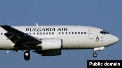 Казанда җимерелгән, элек Bulgaria Air ширкәтендә кулланылган Боинг 737 очкычы