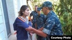 Фотография Гульнары Каримовой, которая предположительно находилась под домашним арестом, распространенная 16 сентября 2014 года.