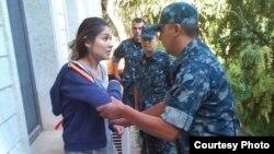 Ґульнара Карімова під охороною, фактично під домашнім арештом, фото 2014 року