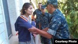 Ислам Каримовтің үлкен қызы Гүлнара Каримованың үйқамақтағы кезі. 16 қыркүйек 2014 жыл.