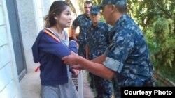 Гүлнара Каримованың үй қамақтағы суреттерінің бірі. 2014 жыл.