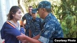 Фотография Гульнары Каримовой, которая предположительно находится под домашним арестом, распространенная 16 сентября 2014 года ее представителем в Лондоне.