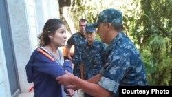 Фотография Гульнары Каримовой, которая была распространена ее адвокатом 16 сентября 2014 года.