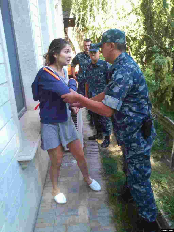 Гульнара Каримова под домашним арестом. 2014 год.