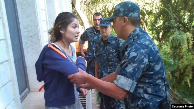 Photos released earlier this month purportedly showed Gulnara Karimova scuffling with security agents during  her house arrest.