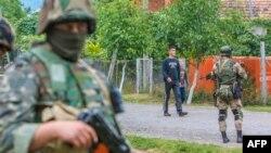 Біля села Бобовище під Мукачевом триває спецоперація, 13 липня 2015 року