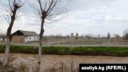 Участок кыргызской границы. Иллюстративное фото.