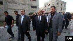 سعد کتاتنی، رئیس مجلس منحل شده مصر و عضو سابق اخوان المسلمین روز دوشنبه در غزه