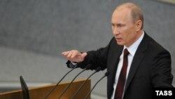 Ресей премьер-министрі Владимир Путин. Мәскеу, 11 сәуір 2012 жыл.