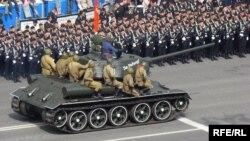 Парад в Києві, архівне фото