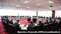Foto arkiv: Takimi i kryeministrit Haradinaj me zëvëndësministrat e Qeverisë