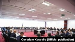 Mbledhja e qeverisë me zëvendësministrat