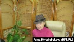 Предприниматель Екатерина Корниенко. Алматы, 8 марта 2014 года.