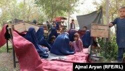 آرشیف، بیجا شدگان داخلی در نتیجه افزایش نبردها در افغانستان