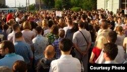 Мітинг проти свавілля російських судів, Іжевськ, Росія, 28 травня 2012 року