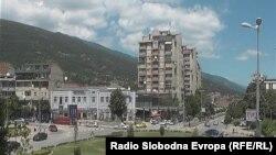 Pamje e një pjese të Tetovës