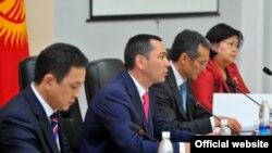 Заседание правительства КР, Бишкек, 13 июля 2012 года.