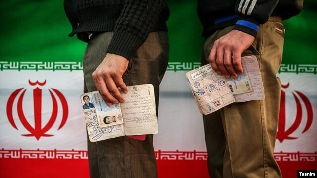 Authorities in Tehran said that about 60 percent of eligible voters, around 35 million Iranians, had voted in elections for parliament and the country's powerful Assembly of Experts.