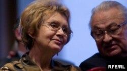 Зінаіда Бандарэнка з Генадзем Бураўкіным, 2010 год