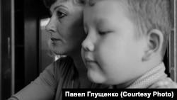 Марина Рузаева с сыном