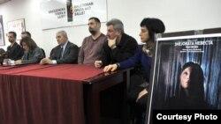 """Прес-конференција по повод премиерата на македонското оперско дело """"Змејовата невеста""""."""