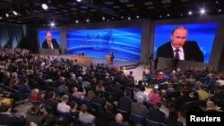 Пресс-конференция президента России