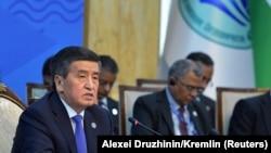 سورنبای جینبکف رئیس جمهور قرغزستان