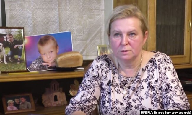 "Alyaksandr's mother, Svyatlana Korzhych: ""Why are they allowing such killers into the army? What do they need them for?"""