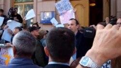 Протест журналистов в Киеве