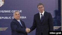 Венгрянын премьер-министри Виктор Орбан жана Сербиянын президенти Александр Вучич