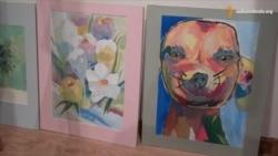 У Дніпропетровську поранені бійці продали свої картини задля грошей на допомогу товаришам та на матеріали для творчості