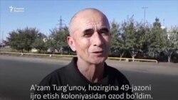 Аъзам Турғунов: Қамоқдалигимда мен учун қайғурган дўстларимга катта раҳмат