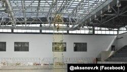 Будівництво Центру олімпійської підготовки в Сімферополі, 27 серпня 2021 року
