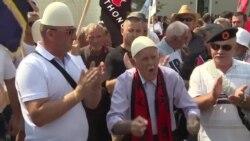 ТВ вести - Протести во Косово против демаркацијата