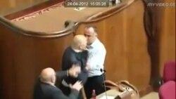 Потасовка в парламенте Грузии