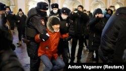 آرشیف، اعتراضها در حمایت از الکسی ناوالنی در روسیه